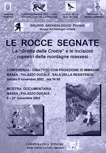 La Grotta delle Crocie e le incisioni rupestri delle montagne massesi